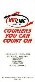 Hot Line Couriers Brochure